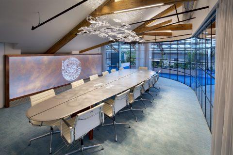 Interiér kanceláří firmy Redside a Arca Capital