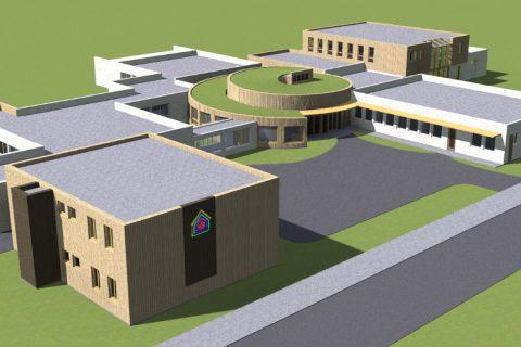 Návrh rekonstrukce a přístavby školy a školky PROINTEPO